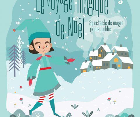 Affiche Voyage Magique